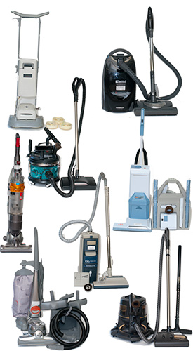 Refurbished Vacuum Cleaners - Kirby - Elextrolux Upright - Electrolux Canister - Rainbow - Filter Queen - Dyson